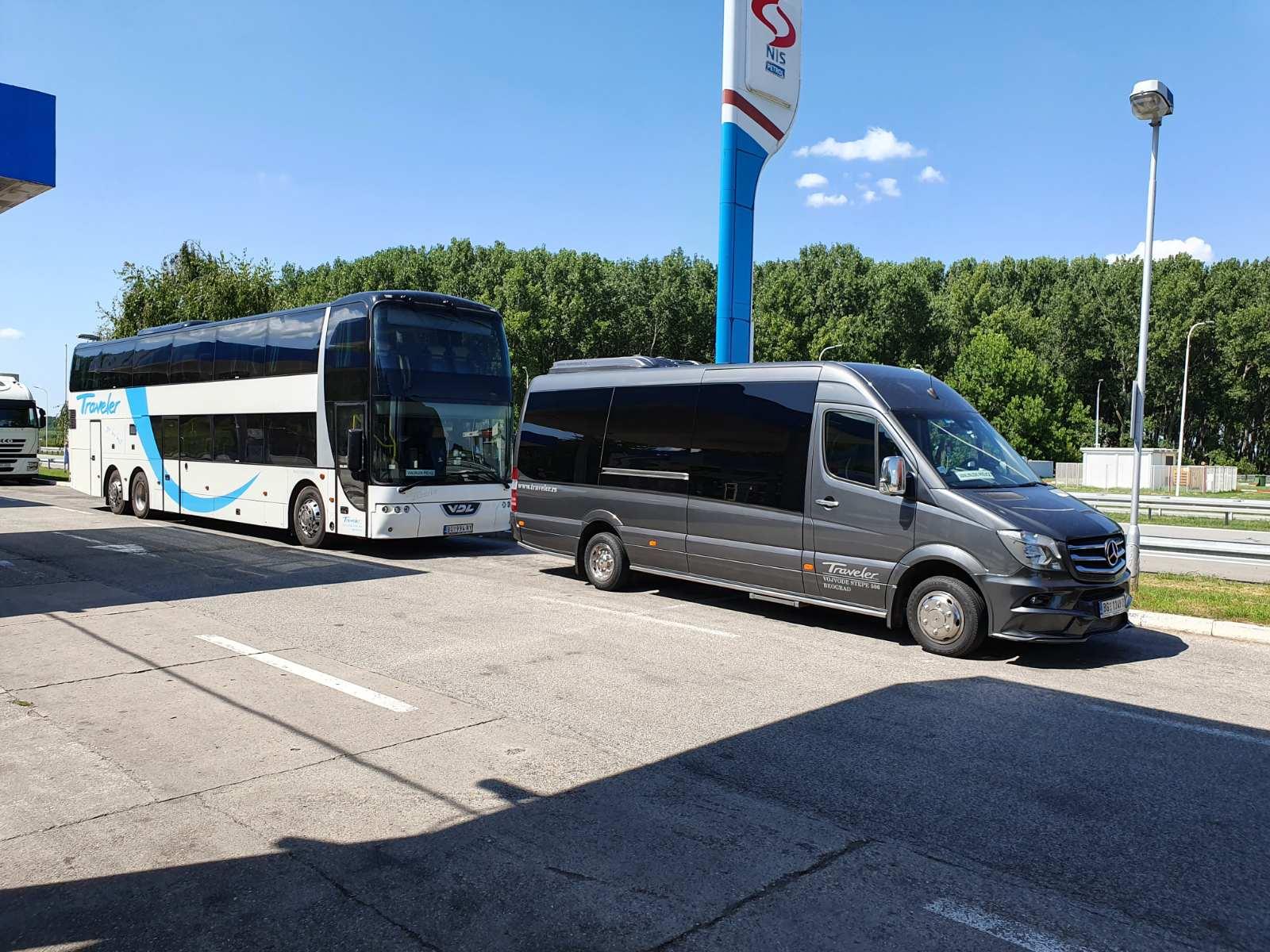 Bus Rental Serbia Belgrade