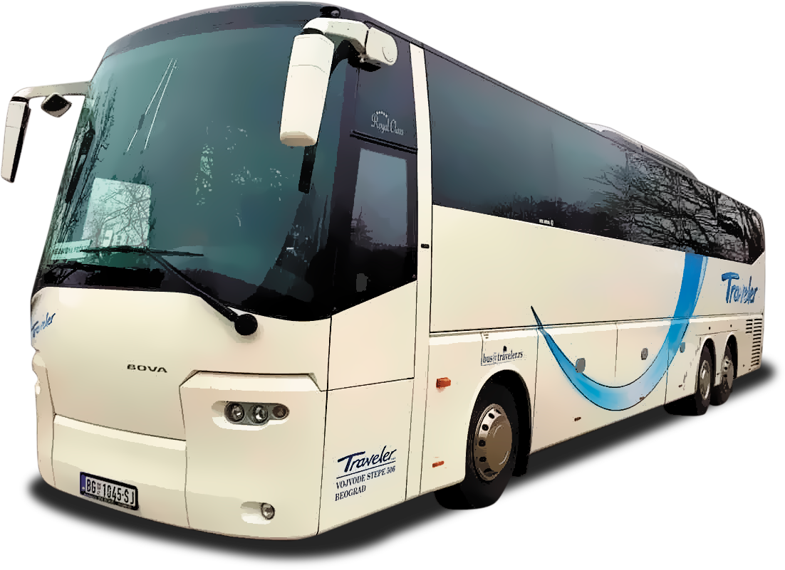 Bus Rental Serbia Belgrade - Bus 59 + 2