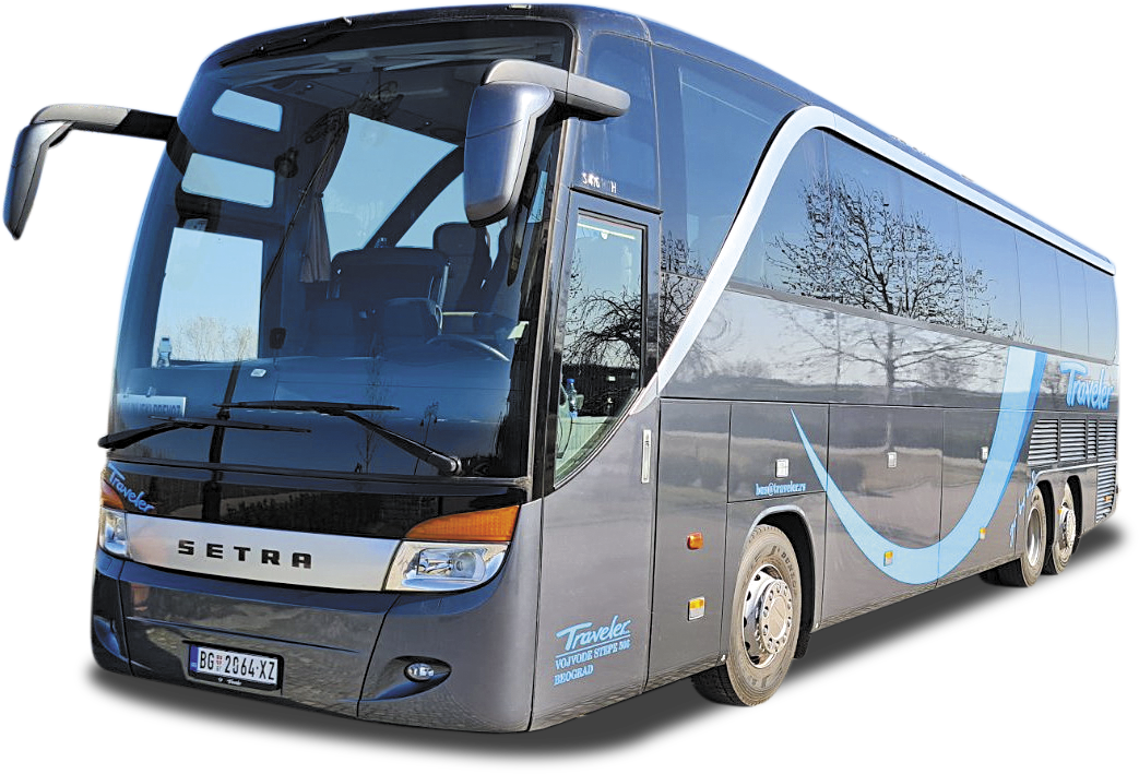 Bus Rental Serbia Belgrade - Bus 55 + 3