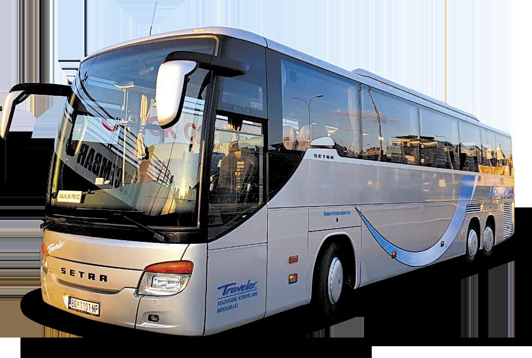 Bus Rental Serbia Belgrade - Bus 53 + 3